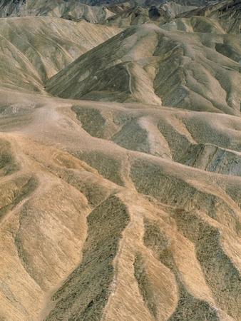 Zabriskie Point in the Death Valley National Park, California (USA)