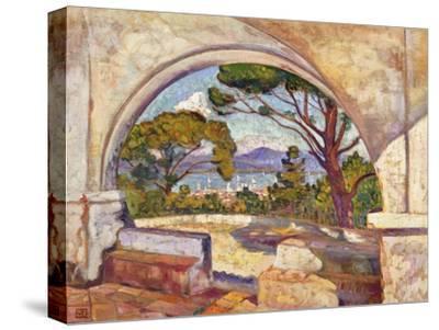 Saint Tropez, Vue de la Chapelle St. Anne