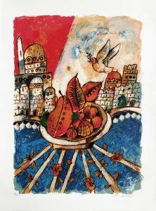 50 printemps d'Israël : Jerusalem... by Theo Tobiasse