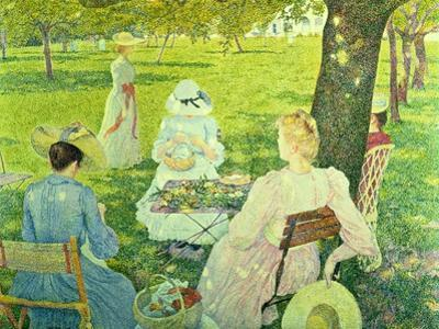 Family in the Orchard, 1890