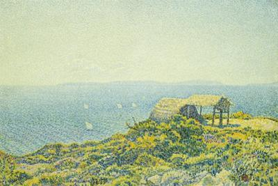 L'Ile Du Levant, Vu Du Cap Benat, 1893
