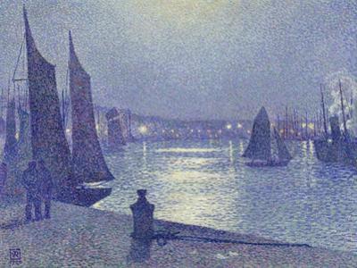 Moonlit Night, Boulogne-Sur-Mer