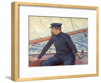 Paul Signac on His Boat