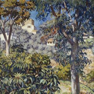 Paysage Du Midi, C.1920-1922 by Théo van Rysselberghe