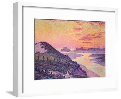 Sunset at Ambleteuse, Pas-De-Calais, 1899