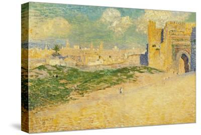 The Mansur Gate in Meknes, Morocco