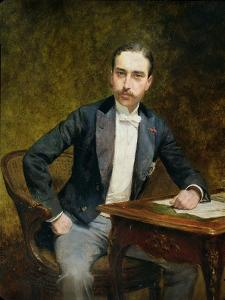 Charles Haas 1891 by Theobald Chartran