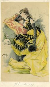Sarah Bernhardt by Theobald Chartran