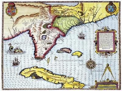 Florida: Map, 1591
