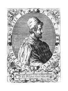 Lucas Gaurico, Italian Astronomer, Astrologer and Mathematician, 16th Century by Theodor de Bry