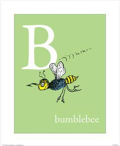 B is for Bumblebee (green) by Theodor (Dr. Seuss) Geisel