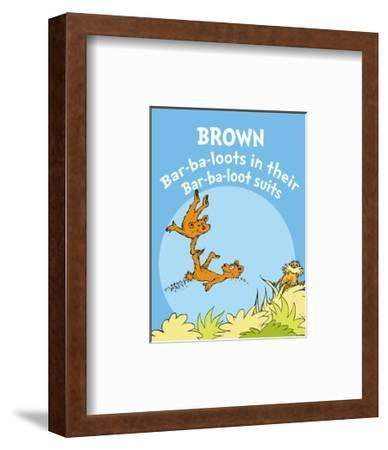 Brown Barbaloots (blue)