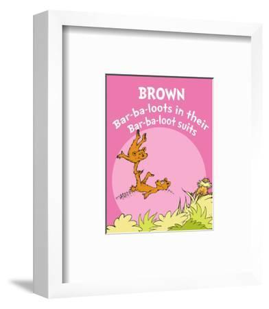 Brown Barbaloots (pink)