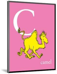 C is for Camel (pink) by Theodor (Dr. Seuss) Geisel