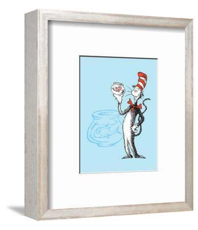 Cat in the Hat Blue Collection I - The Cat in the Hat with Fish (blue)