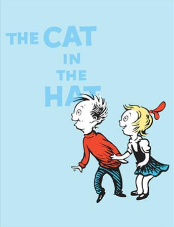 Cat in the Hat Blue Collection III - Sally & Her Brother (blue) by Theodor (Dr. Seuss) Geisel