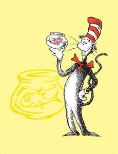 Cat in the Hat Yellow Collection I - The Cat in the Hat with Fish (yellow) by Theodor (Dr. Seuss) Geisel