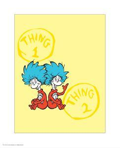 Cat in the Hat Yellow Collection II - Things 1 & 2 Back to Back (yellow) by Theodor (Dr. Seuss) Geisel