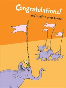 Congratulations (orange) by Theodor (Dr. Seuss) Geisel
