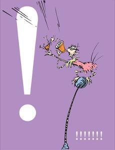 Exclamation Point (purple) by Theodor (Dr. Seuss) Geisel