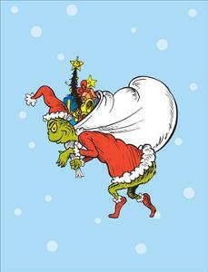 Grinch Collection III - He's a Mean One (snow) by Theodor (Dr. Seuss) Geisel
