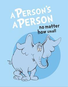 Horton Hears a Who (blue circle) by Theodor (Dr. Seuss) Geisel