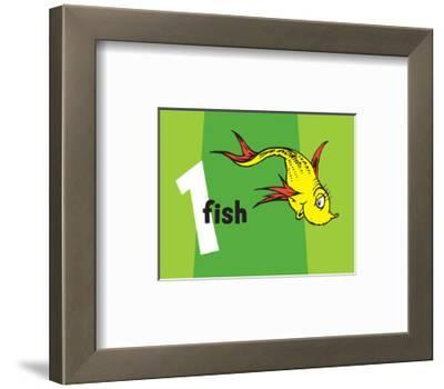 One Fish Two Fish Collection I - One Fish (green)