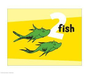 One Fish Two Fish Collection II - Two Fish (yellow) by Theodor (Dr. Seuss) Geisel