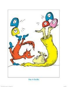 Seuss Treasures Collection II - Fox in Socks (white) by Theodor (Dr. Seuss) Geisel