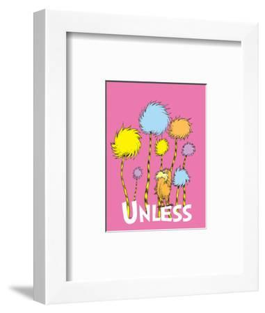 The Lorax: Unless (on pink)