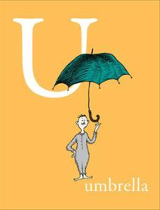 U is for Umbrella (orange) by Theodor (Dr. Seuss) Geisel