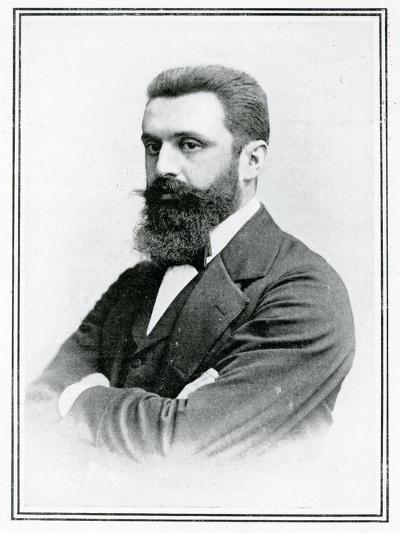 Theodor Herzl (1860-1904)--Giclee Print