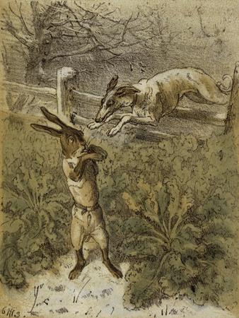 Das Häschen (Little Rabbit), 1863