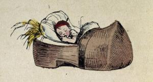 Tom Thumb- Illustration to 'Le petit Poucet' by Theodor Hosemann