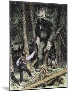 Trolls May be Big But They're Also Thick by Theodor Kittelsen