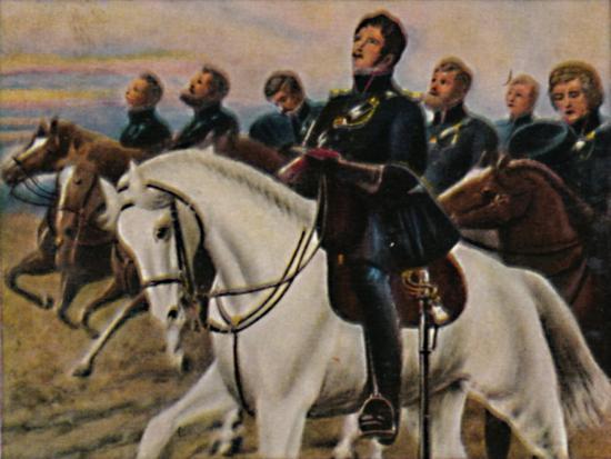 'Theodor Körner 1791-1813. - Gemälde von M. Weese', 1934-Unknown-Giclee Print