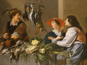 Game and Vegetable Sellers by Theodor Rombouts