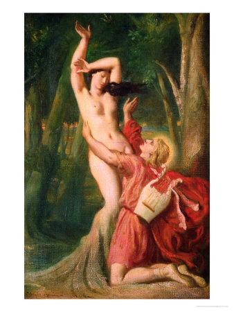 Apollo and Daphne, circa 1845