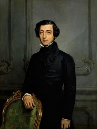 Portrait of Alexis De Tocqueville (1805-185)