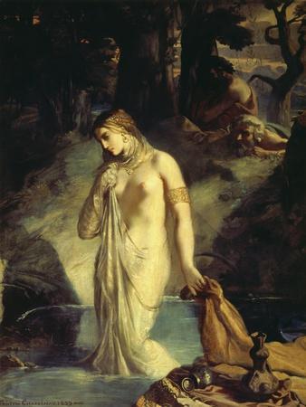 Susanna Bathing, 1839