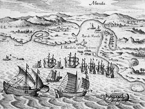 Grand Voyages, 1591 by Theodore de Bry
