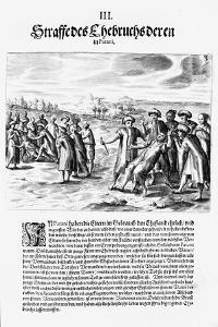 Settling a Score, 1606 by Theodore de Bry
