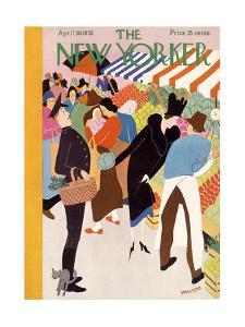 The New Yorker Cover - April 30, 1932 by Theodore G. Haupt