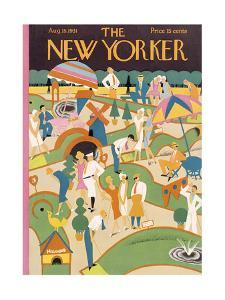 The New Yorker Cover - August 15, 1931 by Theodore G. Haupt