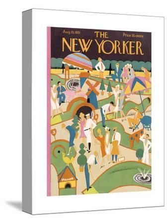 The New Yorker Cover - August 15, 1931