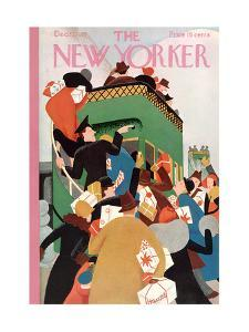 The New Yorker Cover - December 12, 1931 by Theodore G. Haupt