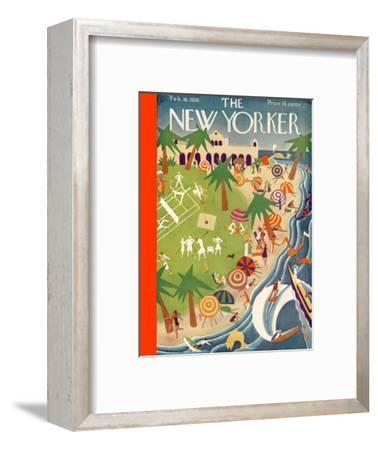 The New Yorker Cover - February 18, 1928