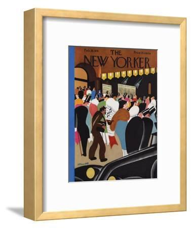 The New Yorker Cover - February 28, 1931