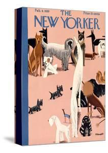 The New Yorker Cover - February 8, 1930 by Theodore G. Haupt