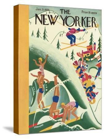 The New Yorker Cover - January 21, 1933